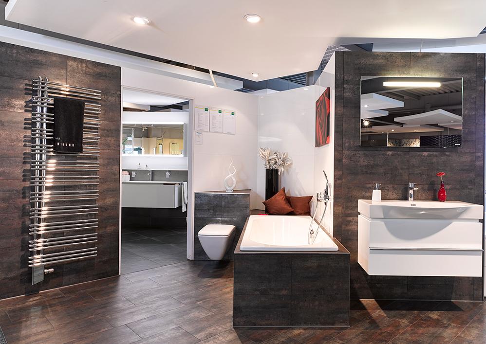 Badausstellung Badeinrichtung modern