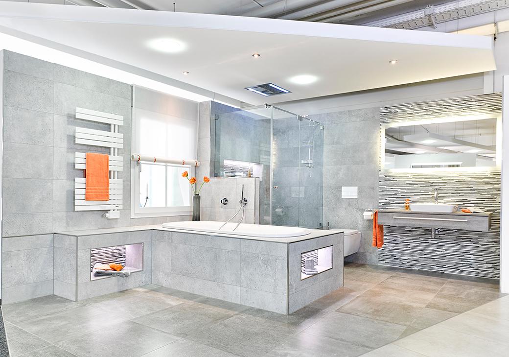 Badausstellung Badezimmer modern